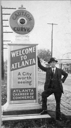 1930 welcome to atlanta a city worth seeing