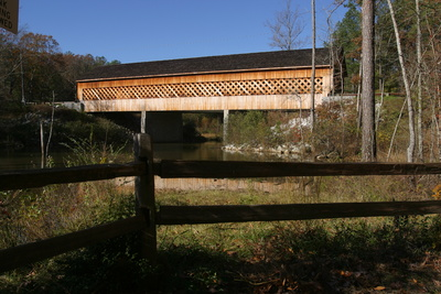 Rockdale county covered bridge photo cred rockdale county