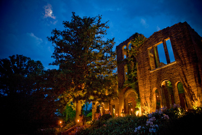Ruins evening dramatic  photocred cartersville bartow cvb photos