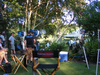 Vampire diaries set photocred select newton